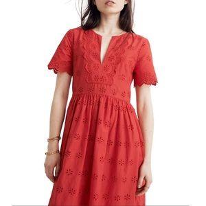 Madewell Orange Dress